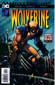 UNvincible wolverine enemy of the state