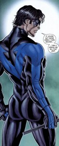 Dick Grayson Nightwing King of all the DC Butts