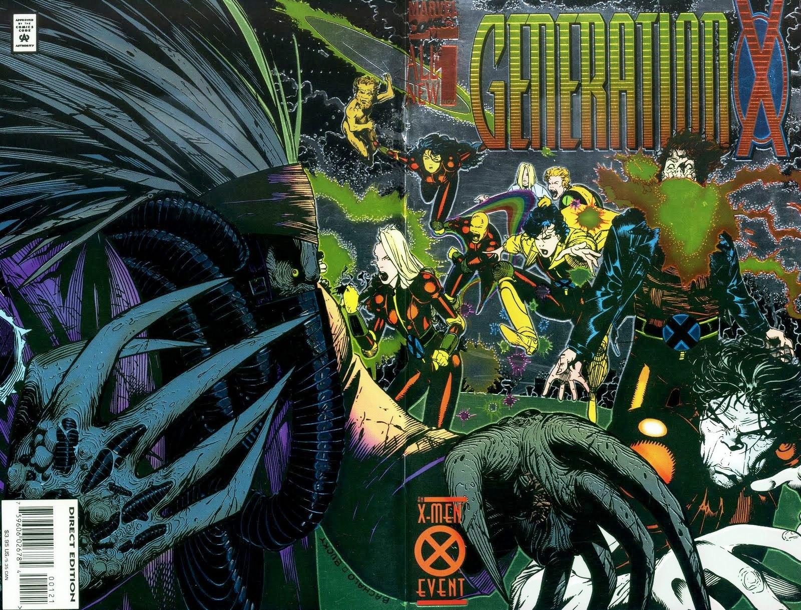 Comic Shop Girl Confessions X-Men Generation X Chris Bachalo
