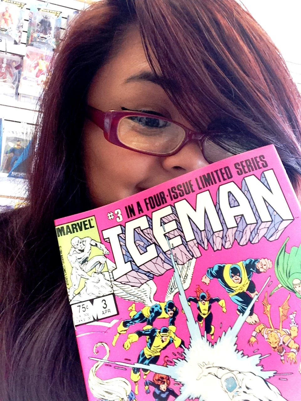Comic Shop Girl Confessions Denise Iceman Bobby Drake 1985