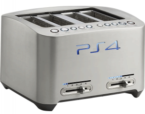Artist's rendition of the possible PS3 design.