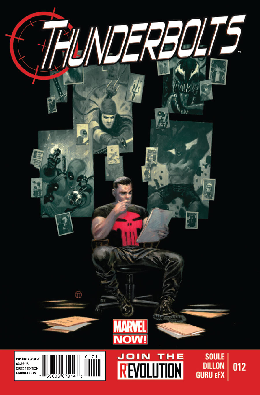 UNvincible Thunderbolts 12 Marvel Now Soule Diilon