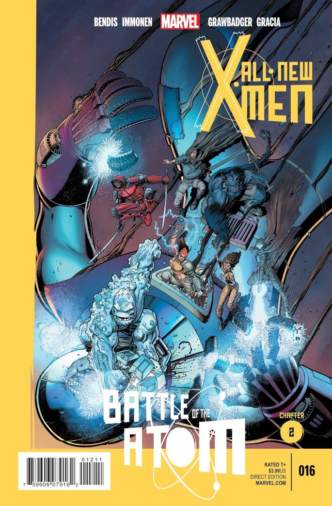 UNvincible X-Men Battle of the Atom Brian Michael Bendis Frank Cho Marvel Now