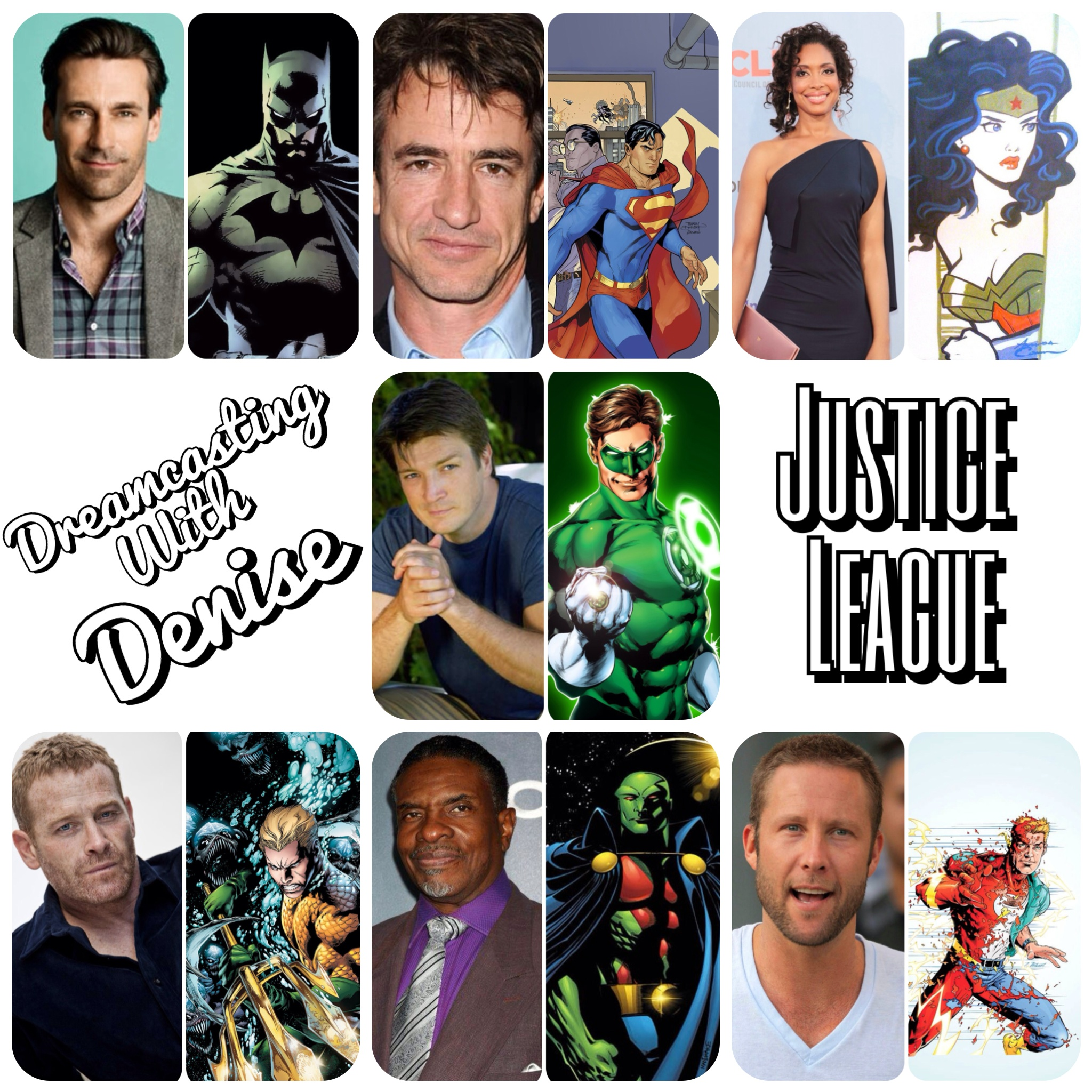 Dreamcasting With Denise Justice League