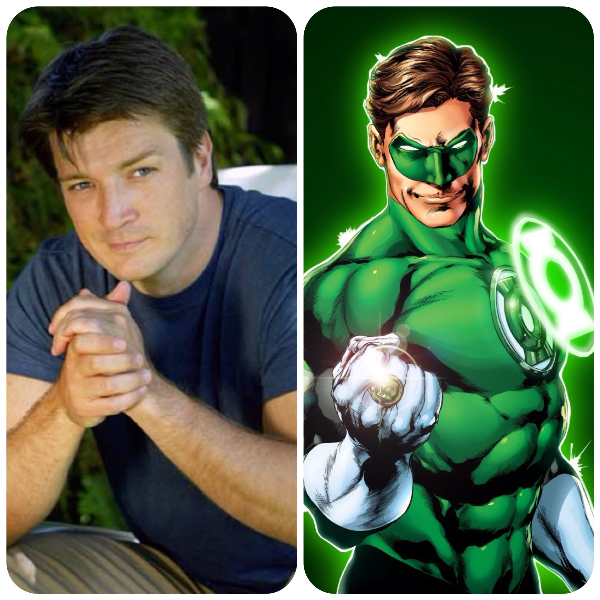 Dreamcasting With Denise Justice League Green Lantern Hal Jordan Nathan Fillion