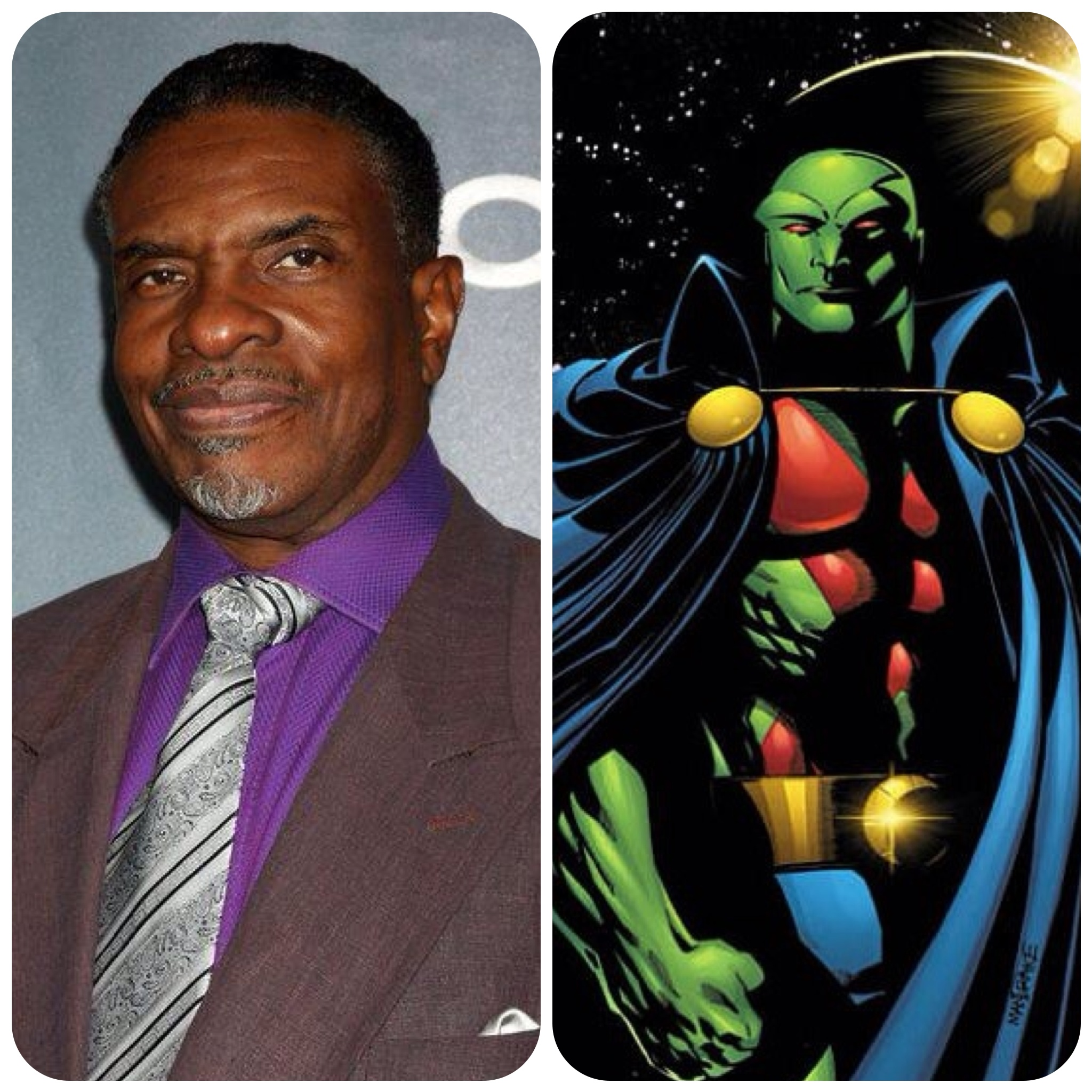 Dreamcasting With Denise Justice League Martian Manhunter J'onn J'onzz Keith David