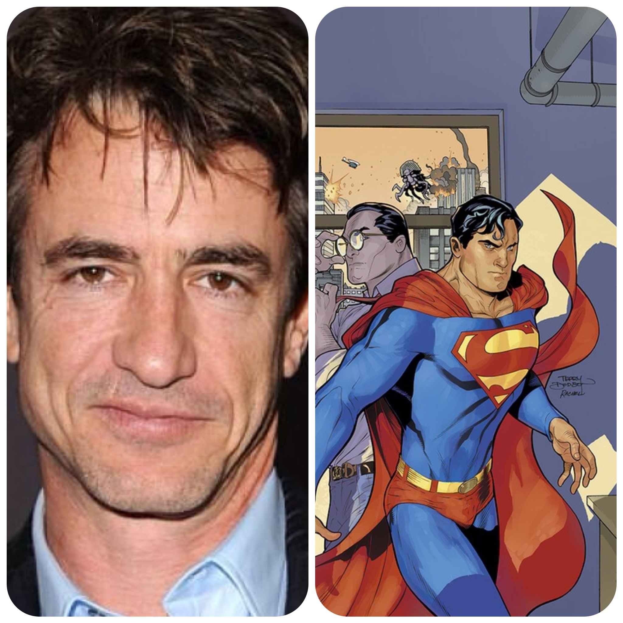Dreamcasting With Denise Justice League Superman Clark Kent Dermot Mulroney