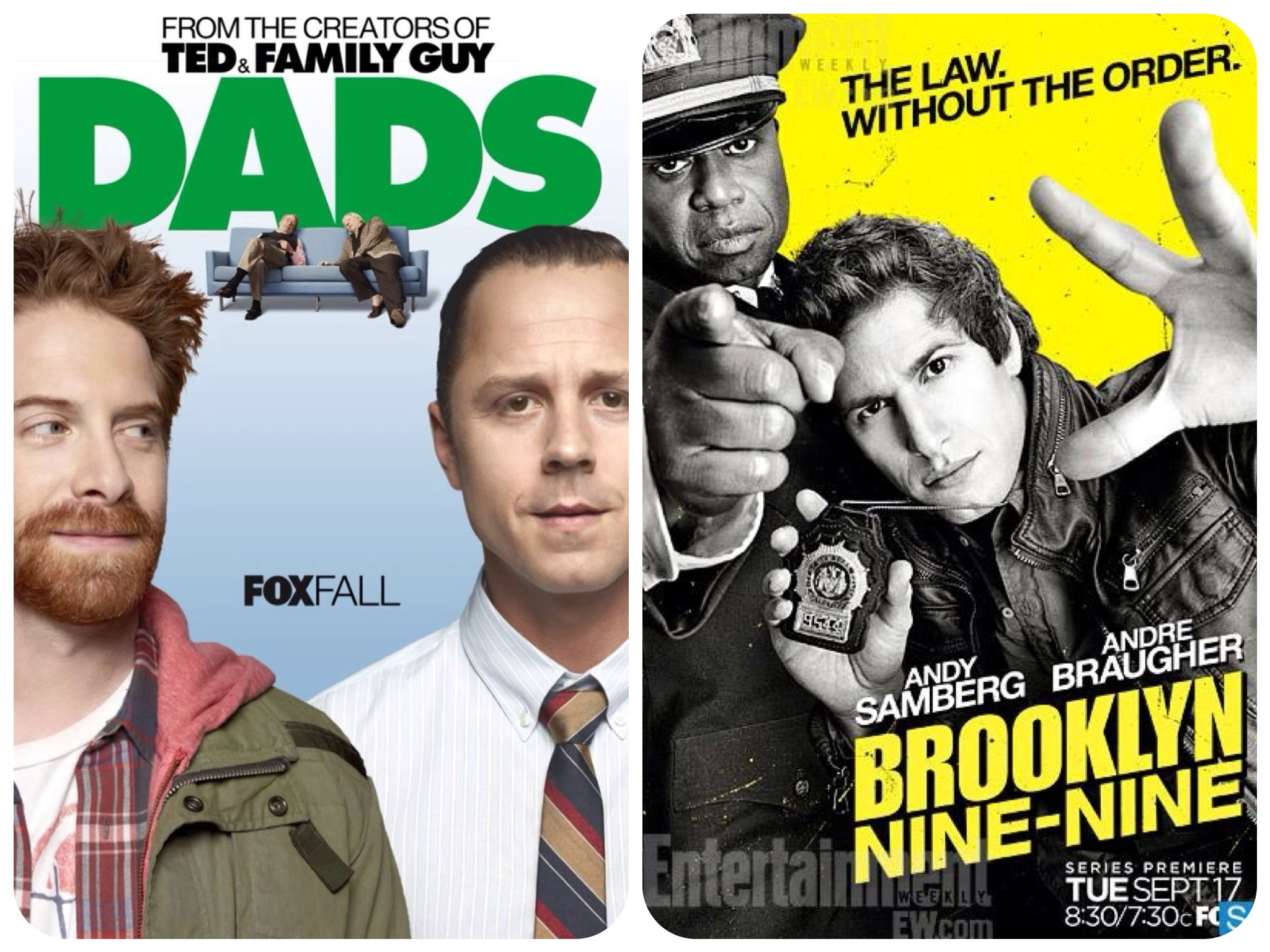 HELL-evision Dads Brooklyn Nine Nine FOX
