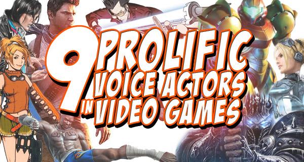 9 Prolific Voice Actors in Video Games