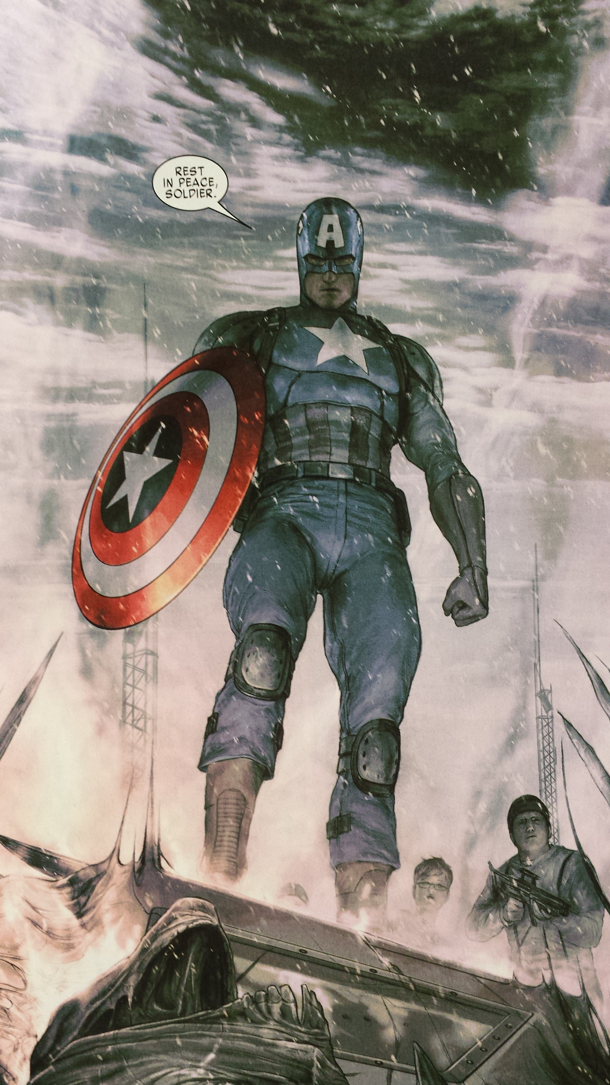 UNvincible Captain America Living Legend Andy Diggle Steve Rogers Marvel Comics