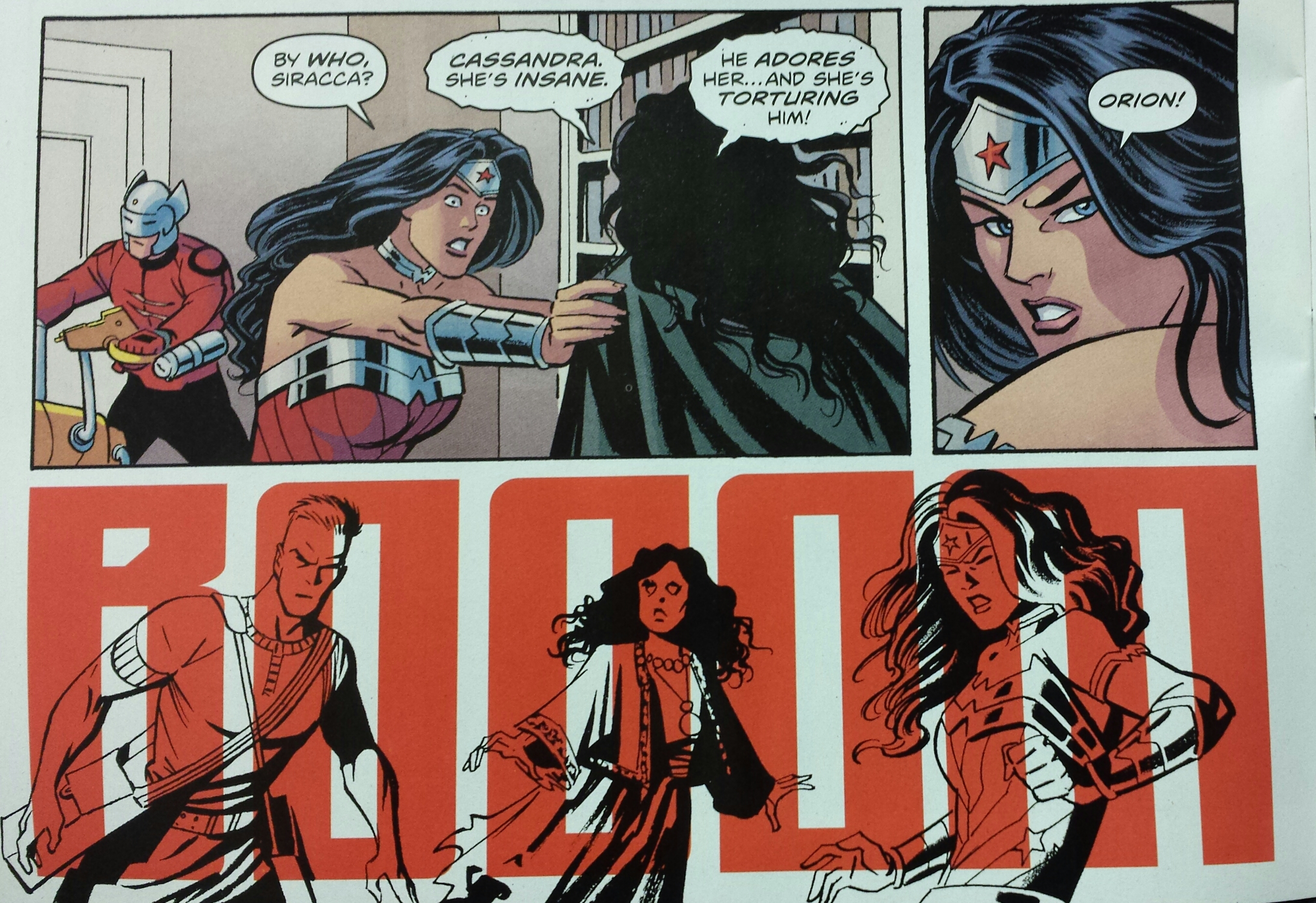 UNvincible Wonder Woman Brian Azzarello Cliff Chiang DC Comics New 52 Invincible Mark Grayson Diana Prince