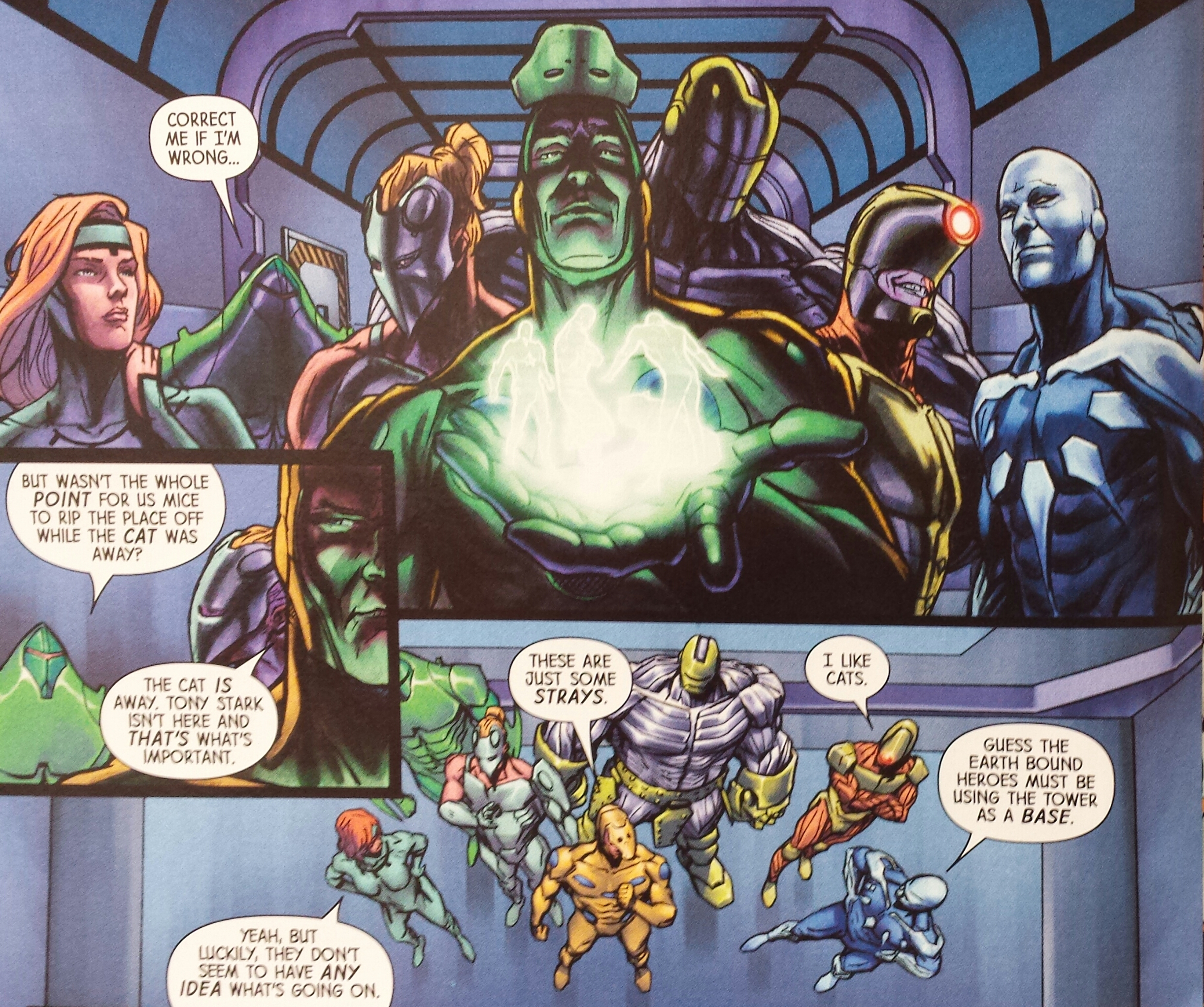 Unvincible Infinity Heist Marvel Now Comics