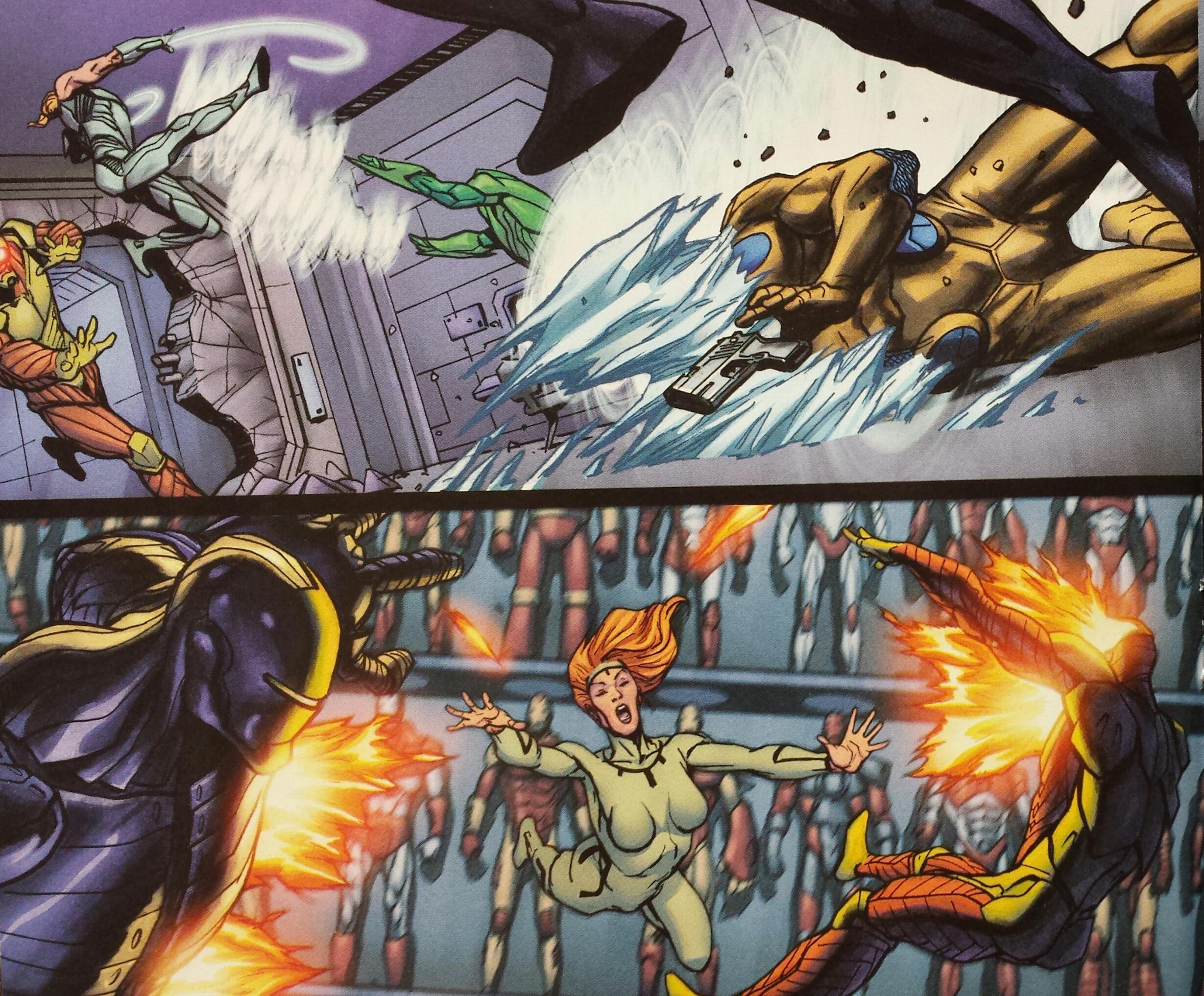Unvincible Invincible Infinity Heist Marvel Now Comics