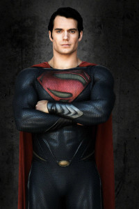Geez, he really looks like Superman...