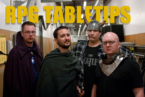Tabletop RPG Tips