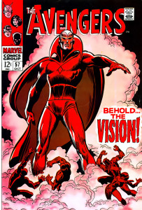 Behold... who shall play VISION