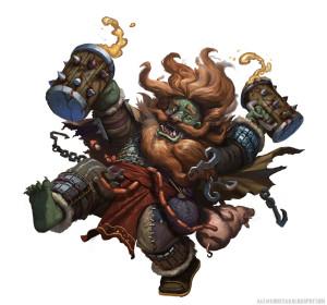 Dwarf + Orc = Dworc