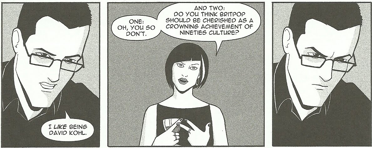 Boy Crazy Comics David Kohl Phonogram Image Comics Keiron Gillen Jamie McKelvie Rue Britannia Singles Club Immaterial Girl Britpop Kenickie The Wicked and the Divine