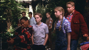 The Losers Club.  Can you spot OZ from Buffy?