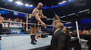 One time I asked Big Show to feed my goldfish and he flushed it because someone said a word with three 'h's in it.