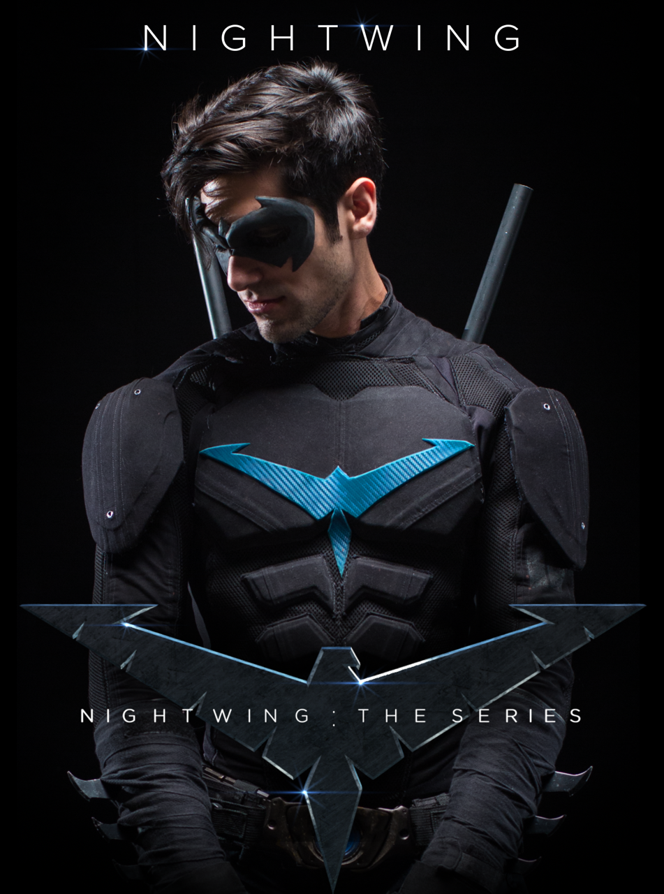 Nightwing: The Series, Dick Grayson, Danny Shepherd, Robin, Batman, Bruce Wayne, Jason Todd, Barbara Gordon, Batgirl, Gotham, Bludhaven, Deathstroke, Slade Wilson, DC Comics, Noel Schefflin, Lenna Karacostas, Kickstarter