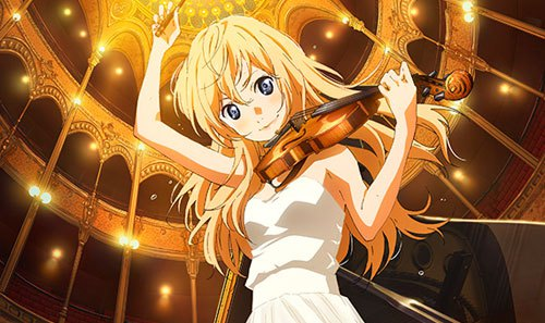 This One Didnt Really Come As A Shock But It Was Still Sad When Kousei Played The Piano Whiles Thinking Of Her With Music And Setting Mad Me