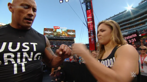If I had been on either side of that fist bump, I'm pretty sure I'd need a cast now.