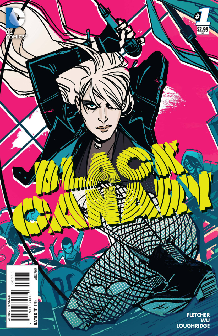 Black Canary 1 Cover