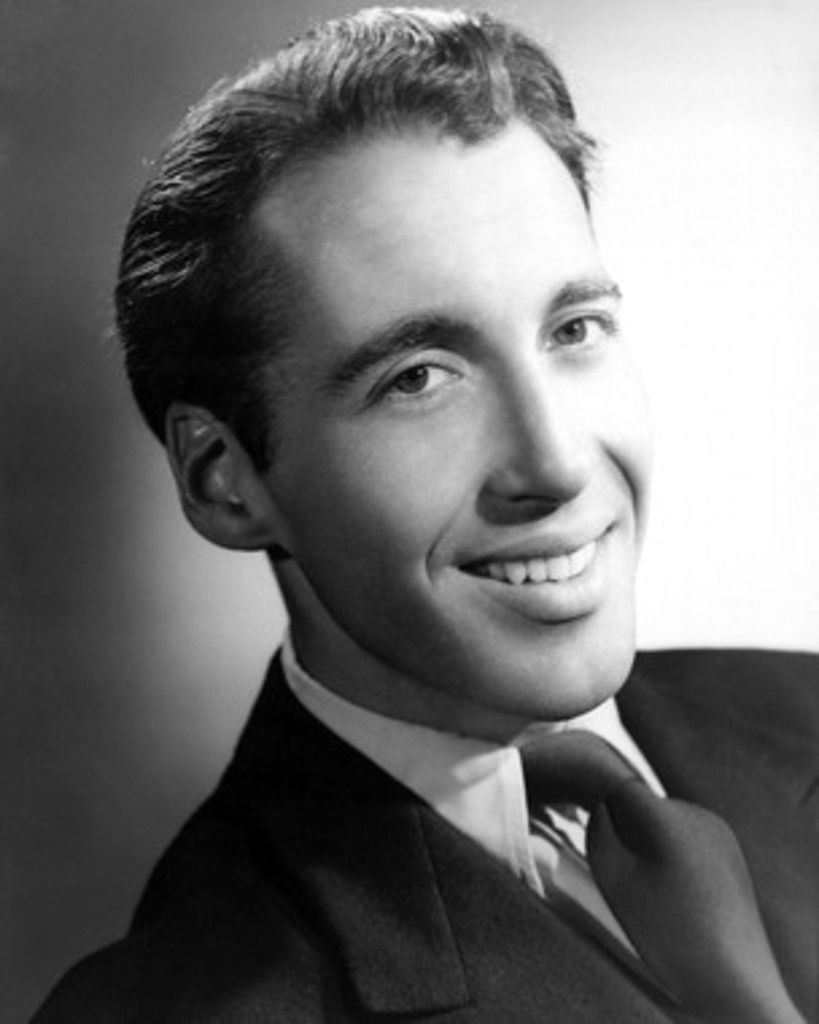 A very young Christopher Lee
