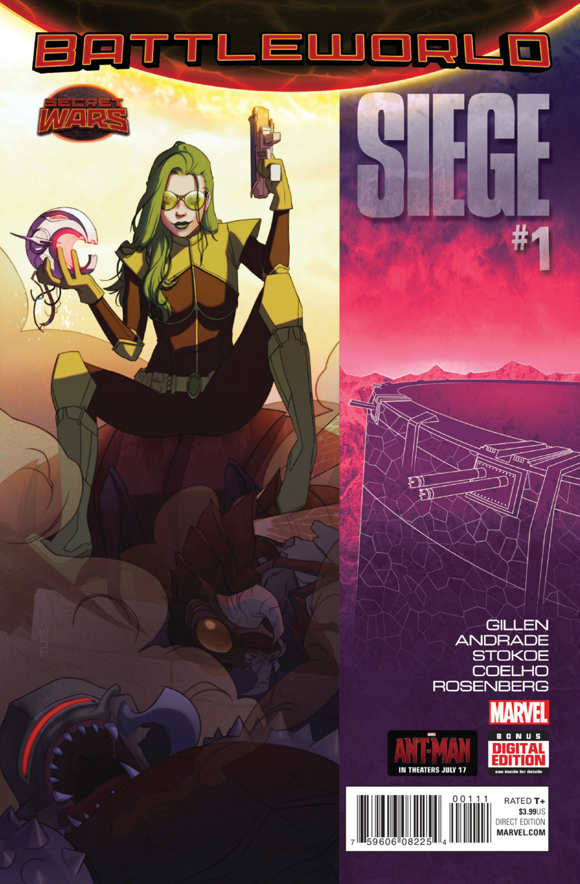 Siege 1 cover