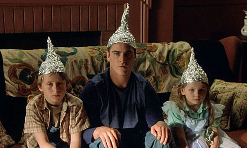 We ARE wearing foil on our F*ckin heads.