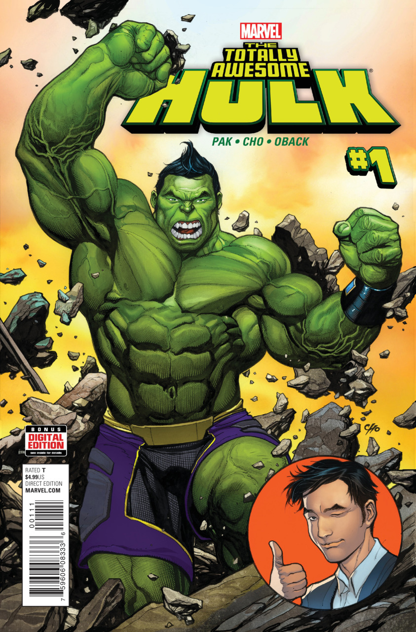 Awesome Hulk 1 cover
