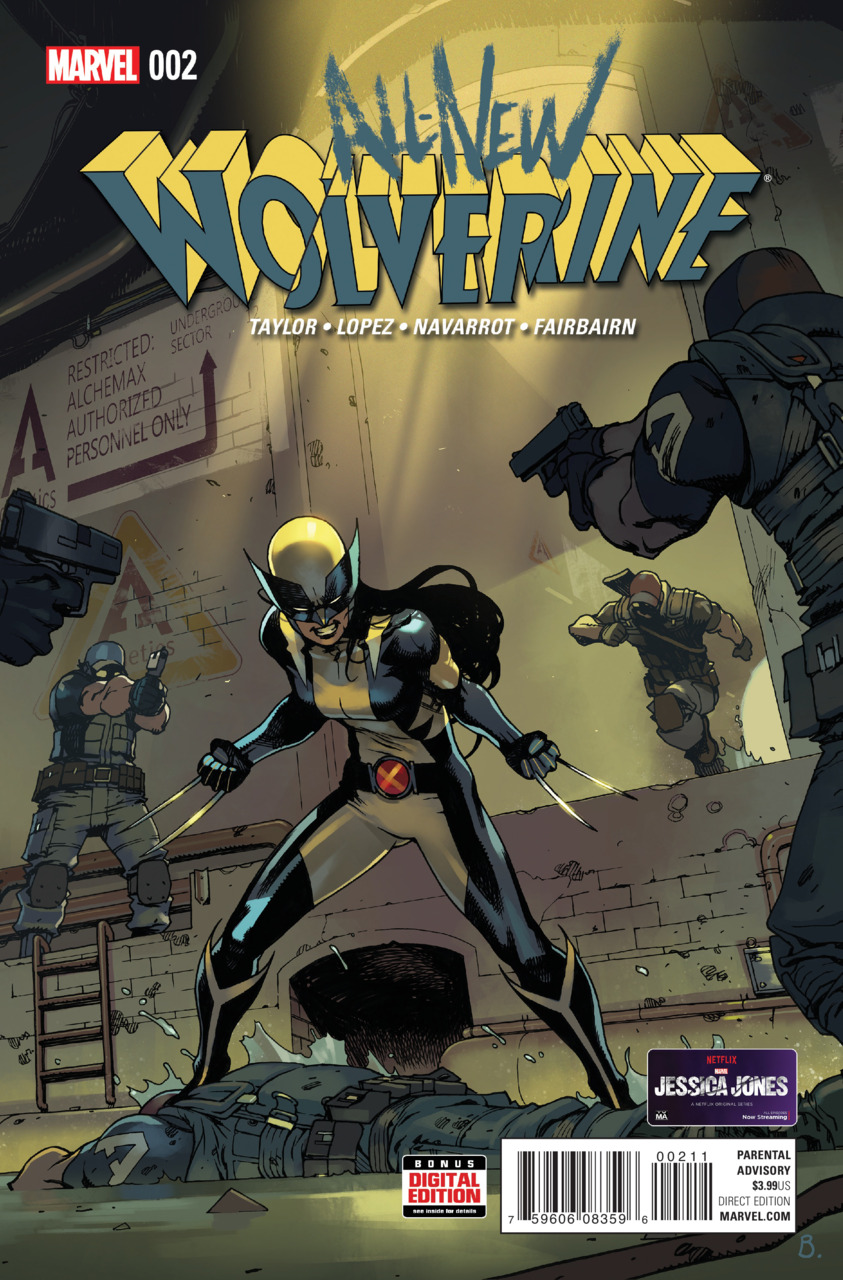 Wolverine 2 cover