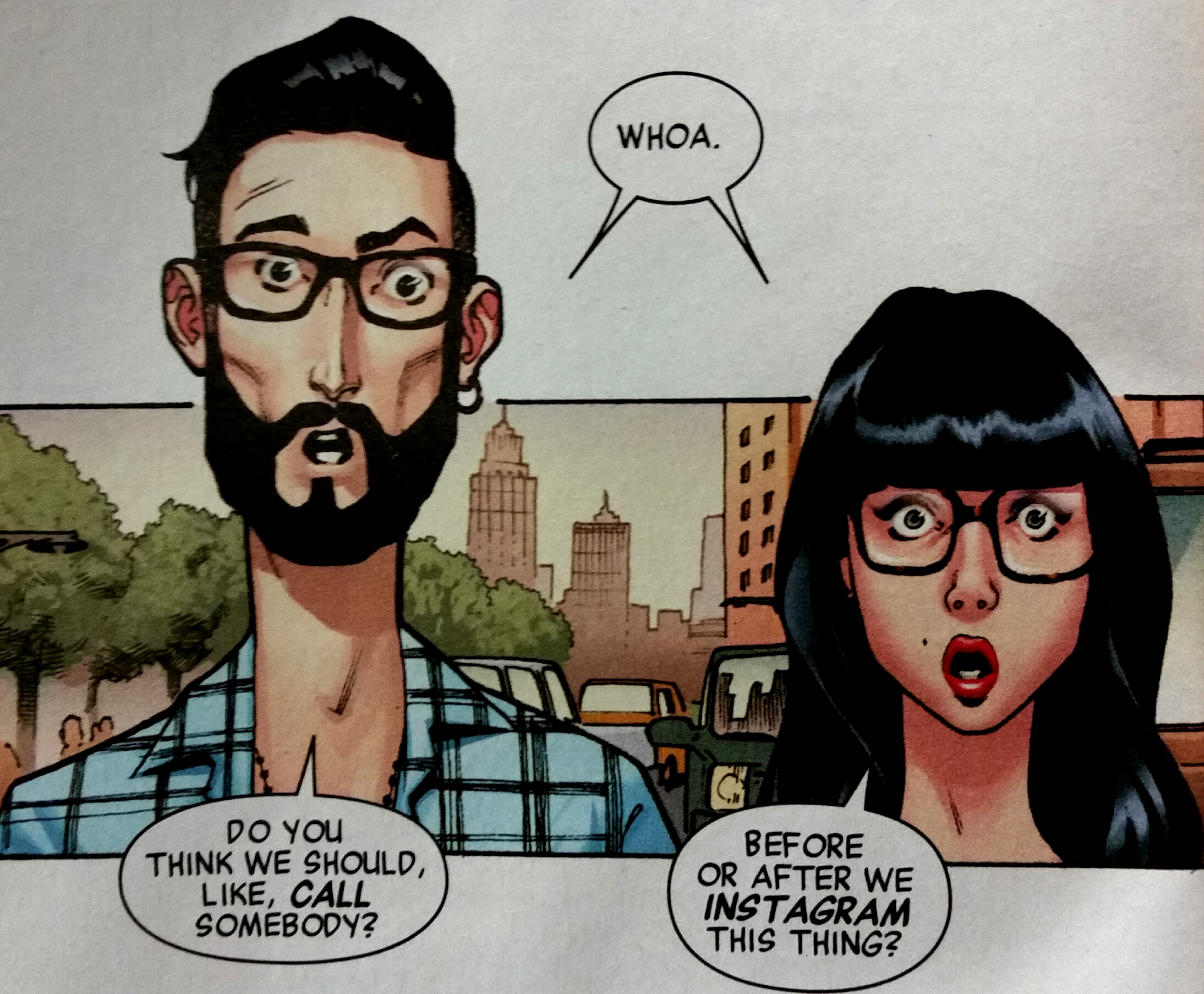 Also? Looks like Matt Fraction and Kelly Sue Deconnick are still in Marvel's heart.