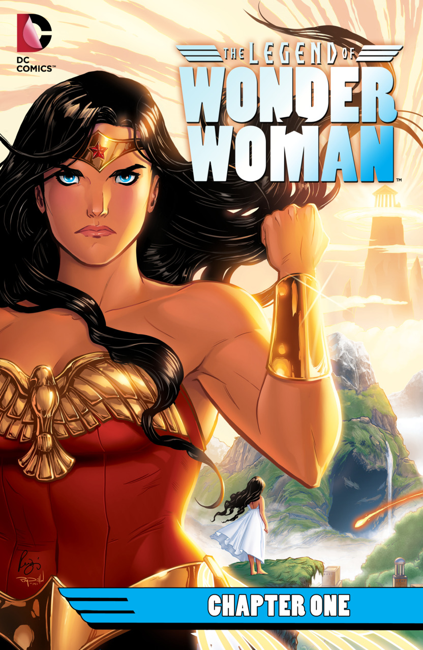Legend of Wonder Woman 1 cover