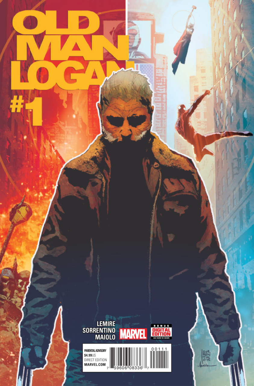Old Man Logan 1 new cover