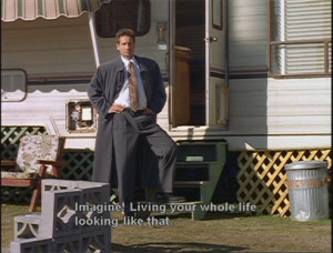No one takes down Mulder quite like Darin Morgan.