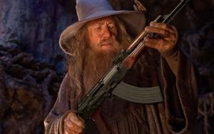 Ah! Elves always make the finest AK-47s.