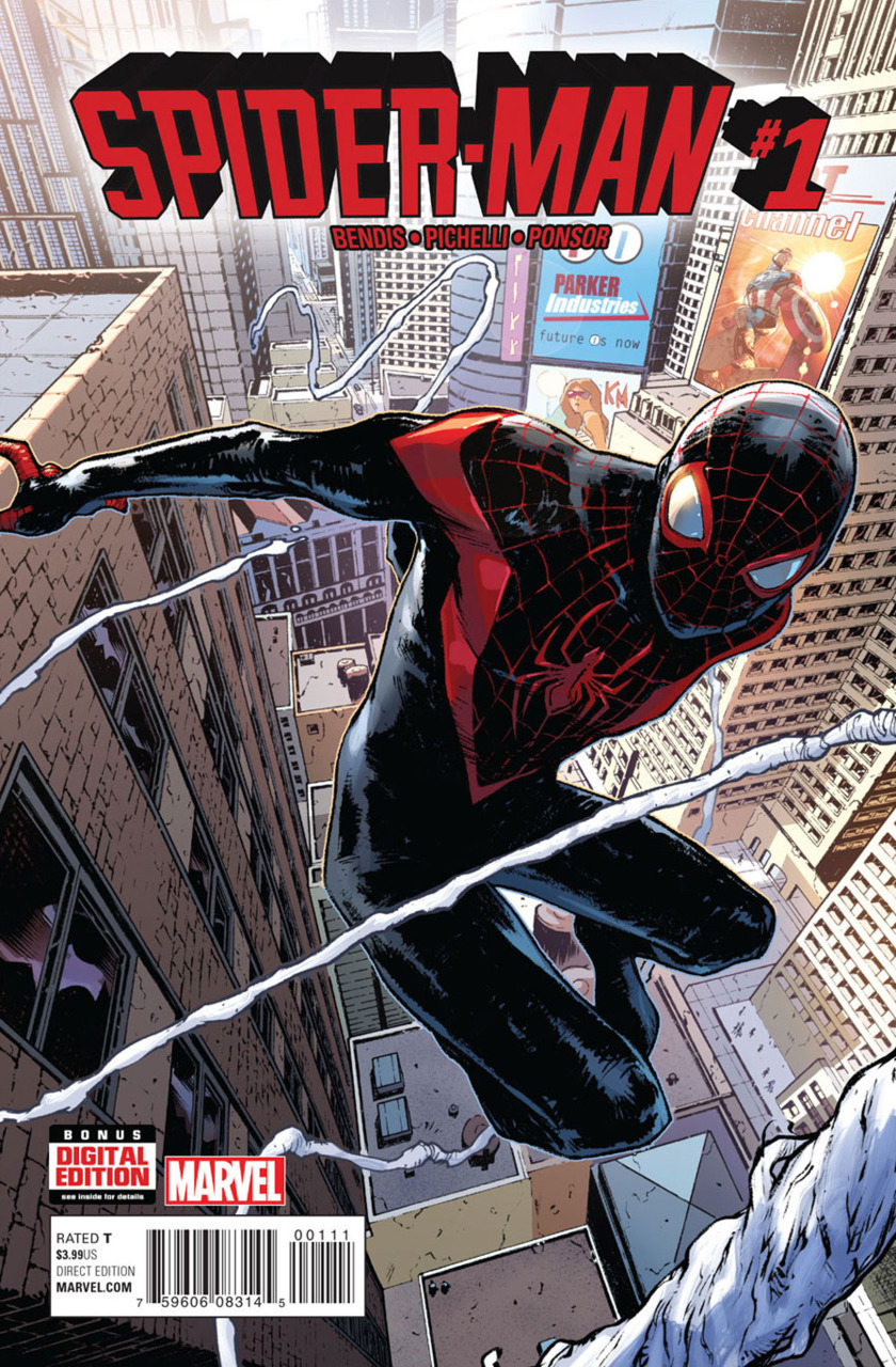 Spider-Man 1 cover