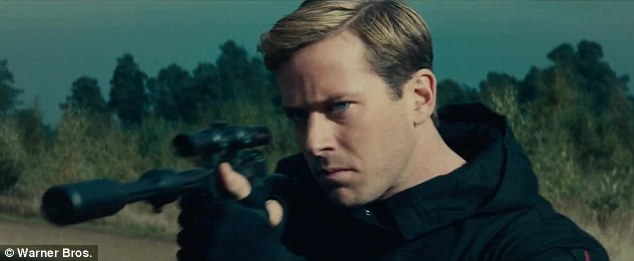 Armie Hammer gonna shoot somebody!