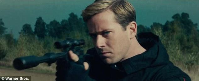 Armie Hammer gonna shoot somebody!