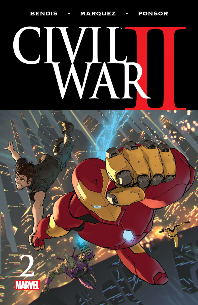 Civil War II cover