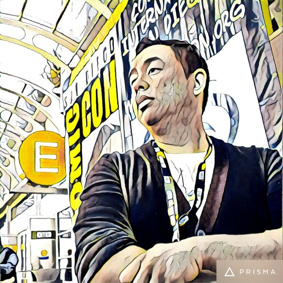 Photo by Earl Baylon. Used the app,Prisma to make it look like this.