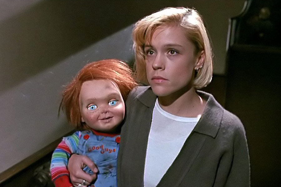 Okay, is it just me or does Chucky look even MORE creepy in doll mode?