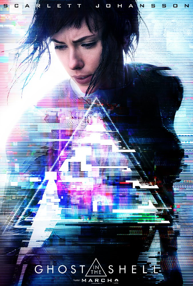 Theatrical poster for Ghost in the Shell